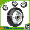 Black Rubber Wheels with Steel Core