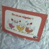 Table Mat Placemat for Kids, with Cartoon Printing