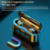 9d 3500mAh 3 LED Display F9-36 F9-38 Bluetooth Wireless Headphones Tws Sports Gaming Wireless Earphone True Ipx7 HiFi Stereo Earbuds for Android Ios Headset