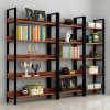 Books Steel&Wood Stand Shelf Rack for Display
