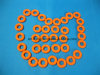 High Quality Medical Grade Injection Molded Colored Silicone Tourniquet O -Rings