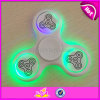 Wholesale Cheap Plastic LED Mini Relieve Stress Fidget Hand Spinner Toys Finger Gyro W01b068