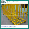 Rk Yellow Portable Cable Ramp Trolley with Four Wheels