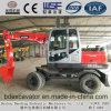 2017 Widely Used New Small Wheel Excavators with ISO9001 Certificate