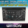 Witson Auto Radio DVD for Opel Zafira (W2-D8828L) CD Copy with Capacitive Screen Bluntooth 3G WiFi OBD DSP