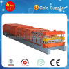 Color Steel Roof Panel Tile Cold Roll Forming Machine / Making Machine