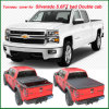 1500 2WD Silverado Lt Crew Double Cab 2014+Top Quality Car Accessories Tonneau Cover