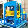 Qt4-15 Concrete Block Making Machine in Tanzania