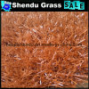 PE Material Synthetic Red Grass 30mm
