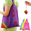 Eco Promotional Foldable Storage Handbag Strawberry Shopping Bag