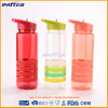 Fine Appearance Fashion Different Colors Plastic Straw Water Bottles