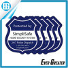 Your Own Design Protected by Simplisafe Window Decals Sticker
