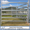 40mm X 80mm 6 Oval Rails Galvanized Portable Metal Cattle Yard Panels