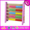 2015 Montessori Kids Wooden Math Abacus Rack Toy, Color Math Toy Children Abacus, Educational Math Toy Wooden Abacus Frame W12A011