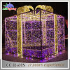 Outdoor Waterproof String Rope Christmas Box Motif Decoration Light