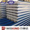 Heat Insulation PU/Rockwool/EPS Sandwich Panel Building Material