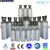 High Pressure Seamless Aluminum CO2 Cylinder with ISO/DOT/Tped/Ce Approval