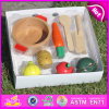 2015 Wood Cutting Vegetables Toy, New Wooden Cutting Vegetables Toy, Food Cutting Toy for Baby W10b146