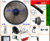 Brushless Hub Motor Kits with 48V 10A Lithium Battery for E Bike