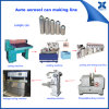 Automatic Aerosol Spray Tin Canning Production Line