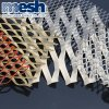 Galvanized / PVC Coated Walkway Mesh / Expaned Metal Sheet