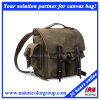 Students Leisure Fashion Waxed Canvas Backpack for Campus