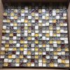 Glass Marble Gem Mosaic for Decoration