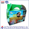 Recycle Quality Custom Design Colorful Corrugated Paper Box Folding Packaging Carton