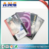 13.56MHz RFID Rewritable ISO Cr80 Blank PVC Cards with Printing