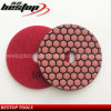 4 Inch Dry Diamond Flexible Polising Pad for Marble and Granite