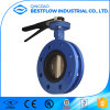 Manual Operated Butterfly Valve with Double Flange