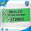 Custom Made Green Open Void Tamper Evident Label