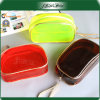 Reusble Travel Candy Color Fashion PVC Cosmetic Bag