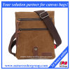 Genuine Leather Cowhide Vintage for iPad Bag Satchel Shoulder Messenger Bags (MSB-026)