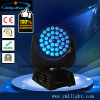 DJ Equipment 36X18W UV Zoom Wash LED RGBWA UV Moving Head Light 6in1 LED Color Wash Zoom Moving Heads