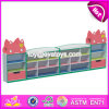 Customized Kindergarten Storage Furniture Wooden Children Toy Shelves W08c199