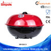 Red Standing Outdoor Camping Barbecue Tool Charcoal BBQ Grill