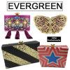 2017 Evening Bag Lady Clutch Bags Woman Acrylic Handbag Ladies Luxury Rhinestone Bag Leb932