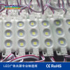 Ce&RoHS LED Module 5050 Chip 3PCS Large Beam Angle IP66 Waterproof 5050 Injection Module for Advertising Signs