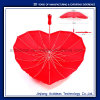 Heart Shape Straight Wedding Gift Umbrella with High Quality China Umbrella