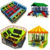 Hot Soft Cheap Indoor Trampoline Bed for Kids Play