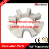 Excavator Rubber Coupling 90h Shaft Coupling Assembly