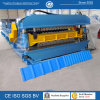 CE Steel Double Layer Roof Panel Roll Forming Machine
