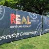 Posted Banners and Outdoor Advertising, Ooh-out of Home Advertising Mesh Banner