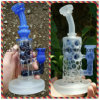 Recycler Glass Water Bubbler Smoking Pipes DAB Oil Rigs