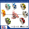 "2""in. X 150′ft. Multi Color Grid Design Reflective Conspicuity Tape (C3500-G)"