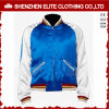 Bomber Jacket for Men Blue White Satin Jacket (ELTBJI-66)