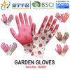 Garden Gloves, Printing Polyestershell Latex Coated Crinkle Finish Safety Work Gloves (G2000) with CE, En388, En420