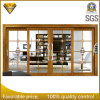 Top Quality Balcony Aluminum Profile Double Tempered Glass Sliding Door