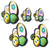 Butterfly Soft PVC Rubber Fridge Magnet (FM258)